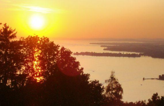 Lake Constance Bodensee Linau Germany